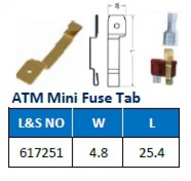 ATM Mini Fuse Tab 1