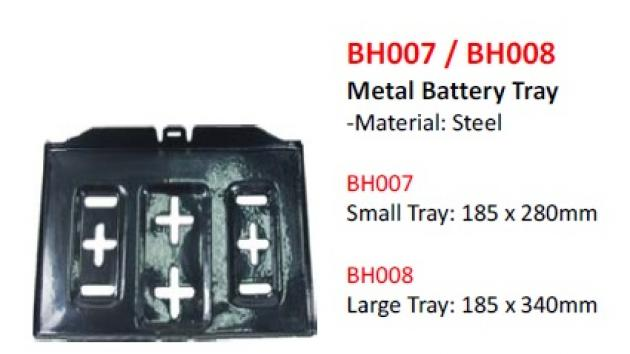 Metal Battery Tray 1